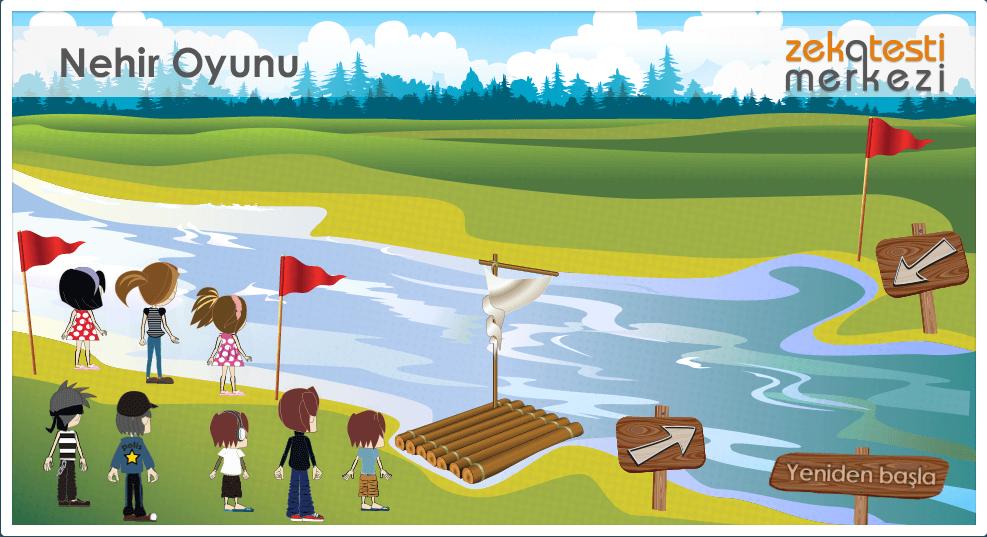 Zeka Oyunları Nehir Oyunu Japon Iq Testi